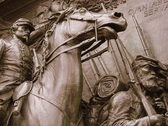 Shaw Memorial, Boston Massachusettes. Image by debaird™